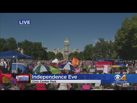 Independence Eve Celebrations Underway At Civic Center Park
