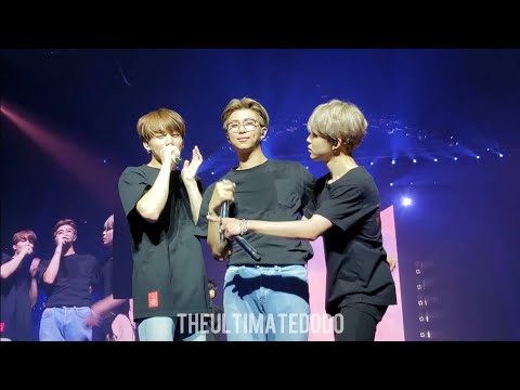 181003 Answer: Love Myself @ BTS 방탄소년단 Love Yourself Tour In Chicago Fancam 직캠