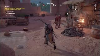 Assassin Creed origins fair trade side quest
