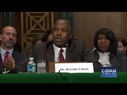 Download Youtube: HUD Secretary Nominee Dr. Ben Carson Opening Statement (C-SPAN)