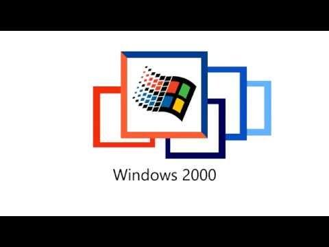 Windows Logo Evolution Animation
