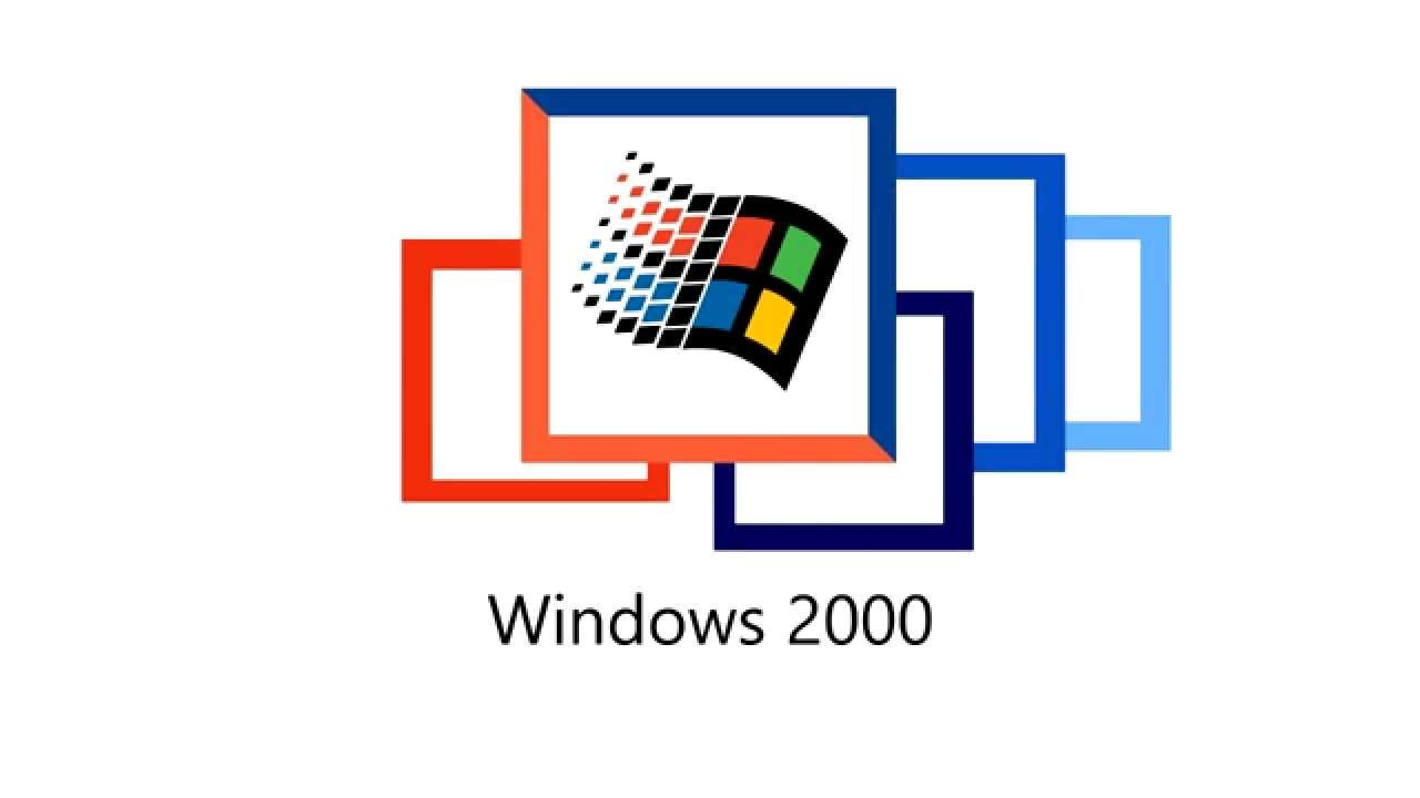 Windows logo evolution animation