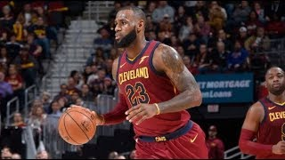 LeBron James Scores 18 Straight Points in the 4th Quarter | November 22, 2017