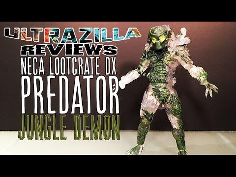 NECA LOOTCRATE DX PREDATOR JUNGLE DEMON...