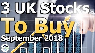 These are my top 3 stocks to buy for September 2018 in the UK. My 3...