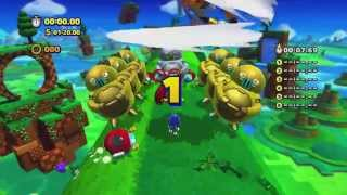 Sonic Lost World: Windy Hill 1 - Amazing Speedrun