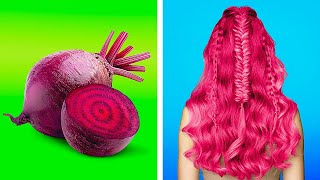 BEST HAIR HACKS FROM INSTAGRAM || Girly Beauty Hacks