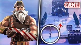 A SPECIAL NOEL ARME SKIN and a NEW EEL on FORTNITE! (Fortnite News)