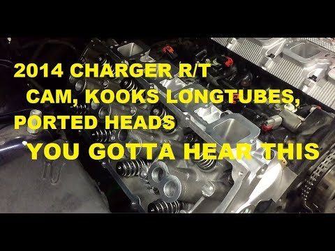 Cammed Charger RT with Kooks Longtubes, CnC Ported Heads - Rains Precision Motorsports