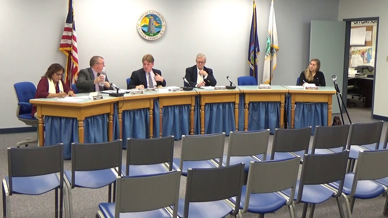 Town of Plattsburgh Meeting  10-18-18