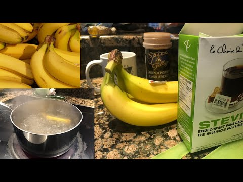 How To Get A Good Night's Sleep Naturally Banana Cinnamon Tea-And Best Natural Sleep Aids