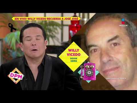 Willy Vicedo revela cómo Sara Salazar manipuló a José José   De Primera Mano