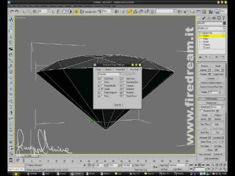 how to make a diamond in autocad