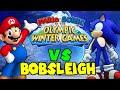 ABM: Mario & Sonic Olympic Winter Game Mario vs Sonic!! *Bobsleigh* HD!!