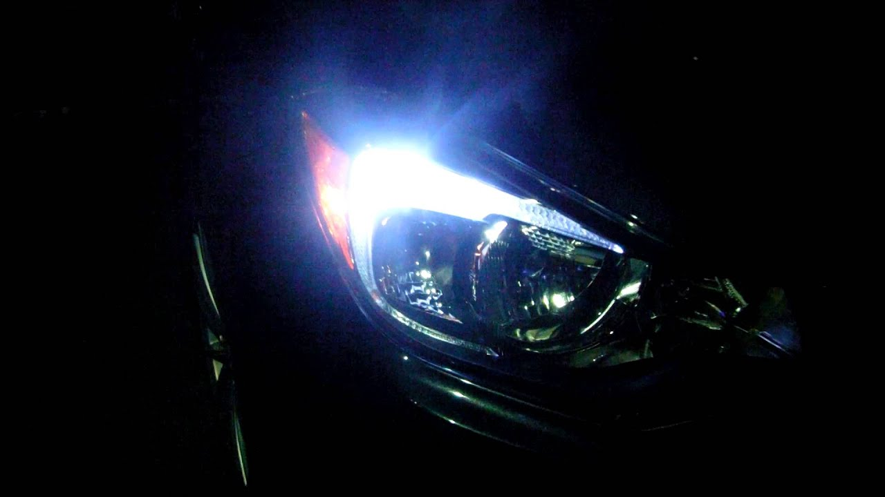 Led Parking Lights Drl 2012 Subaru Impreza Youtube