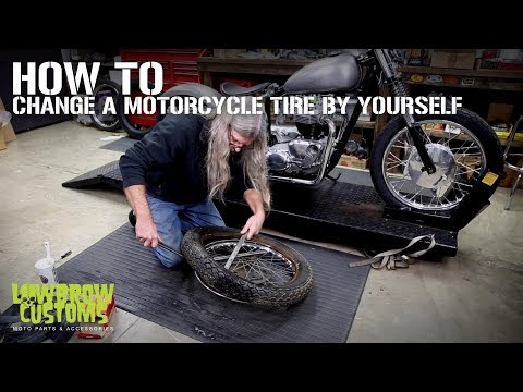 How To Change a Motorcycle Tire By Yourself