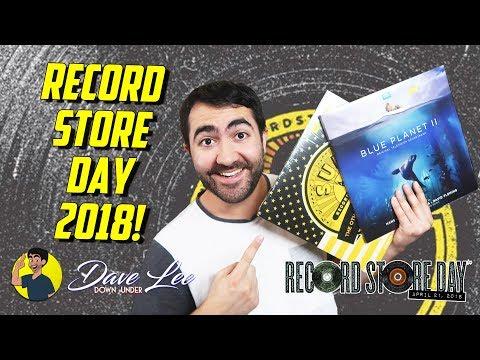 RECORD STORE DAY 2018 Haul!