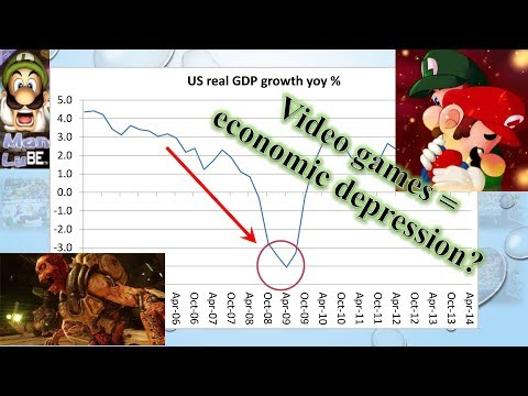 Are Video Games Destroying the Economy?  Let's Take a Deep Look. Seriously.