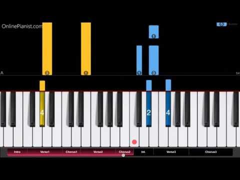 Keith Urban - Making Memories Of Us - EASY Piano...