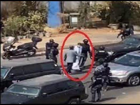 Convoi et Arrestation de Ousmane Sonko pour trouble à l'ordre publique