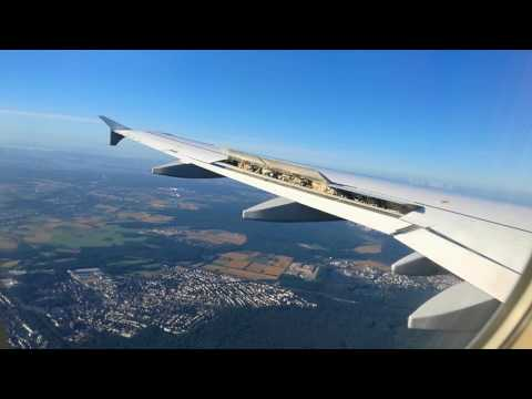 Lufthansa Airbus A320 Oslo - Frankfurt