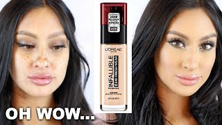 Baixar NEW L'Oréal Infallible Fresh Wear 24HR Foundation | Full Review TRY THIS!