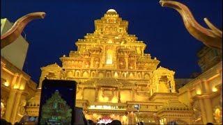 Sreebhumi Sporting | Bahubali Palace Theme Pandal | Durga Puja Porikroma 2017