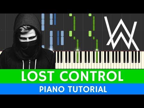 Alan Walker & Sorana - Lost Control - PIANO
