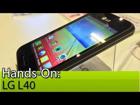 Hands-on: LG L40 - Tudocelular.com