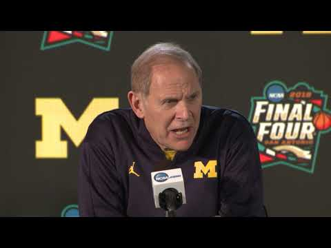 Michigan press conference before national championship game