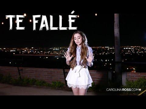 Te fallé - Christian Nodal (Carolina Ross cover)