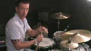 DRUM LESSONS   Paradiddle-diddle around the kit thumbnail