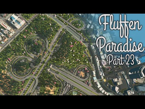 Cities Skylines - Fluffen Paradise [PART 23] - Intersection