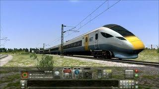 Train Simulator 2013 - 150 MPH Super Express Train Full Test Senario Game Play