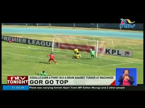 Gor Mahia have moved to the top of the Kenyan Premier League