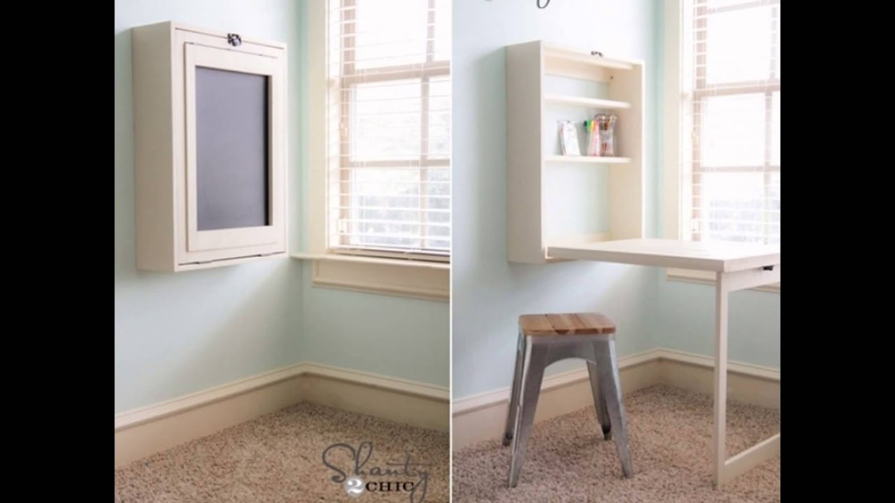 10 Space Saving Ideas for Small Apartments - YouTube