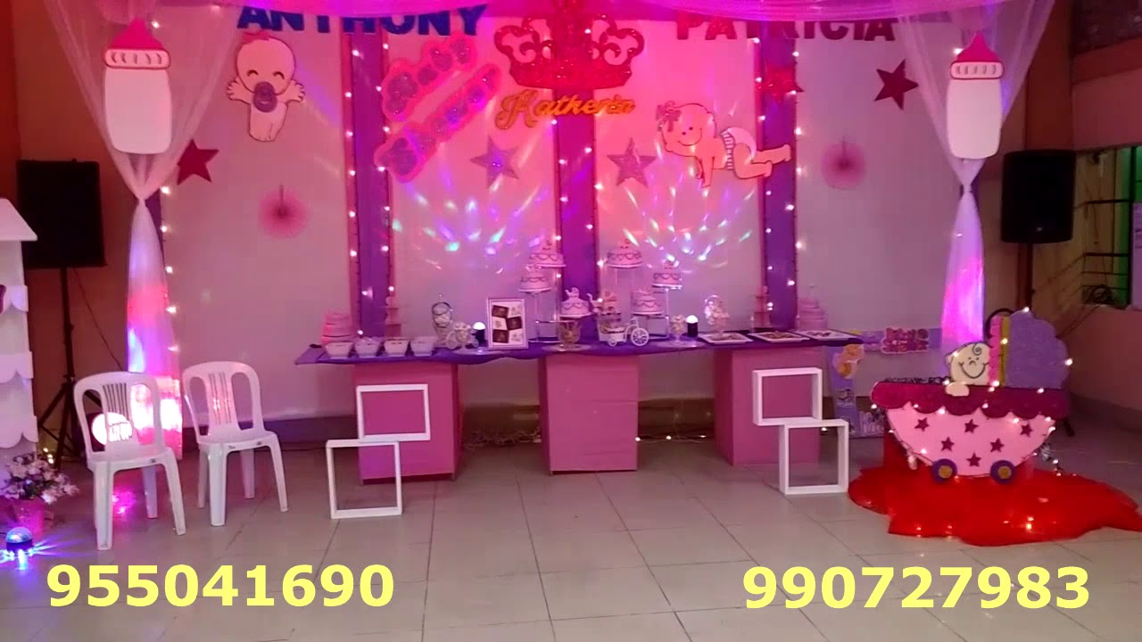 Baby shower chimbote 2018 eventos urban decoracion de - Decoracion de baby shower nina ...