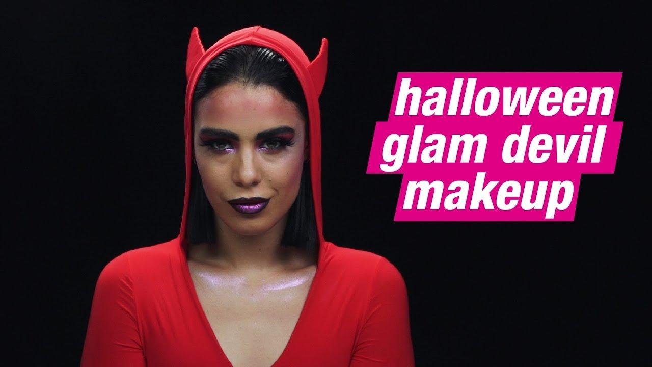 Halloween Makeup Devil Girl.How To Halloween Glam Devil Makeup Superdrug
