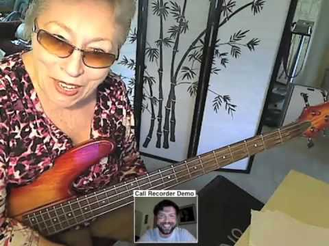 """CAROL KAYE interview/video chat about her work with BRIAN WILSON on THE BEACH BOYS` """"SMiLE"""" sessions"""
