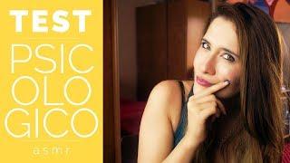ROLEPLAY PSICOLOGA | Test de Personalidad | ¿qué escondes en tu subconsciente? Asmr en Español
