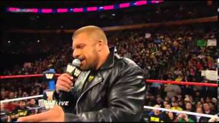 Triple H Challenges Brock Lesnar To A Match At WrestleMania29
