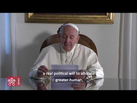 Pope Francis' Video Message to UN Climate Action Summit, 2019.