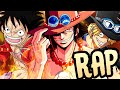 """LUFFY, ACE & SABO RAP   """"Bound by Blood""""   RUSTAGE ft. Shwabadi & Connor Quest! [One Piece]"""