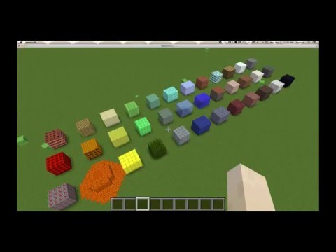 New Color-to-Minecraft-Material mapping!