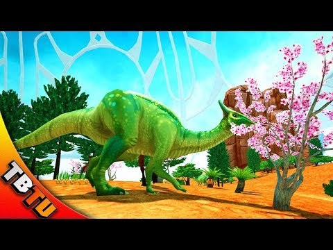 INTRODUCING THE OVIRAPTOR TO THE ECOSYSTEM! Tyto Ecology Cretaceous Monglia Dinosaur DLC E3