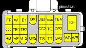 OBD I диагностика автомобиля TOYOTA Corolla II (CORSA) - YouTube