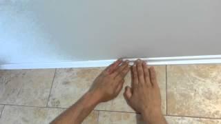 Как клеить потолочный багет. Подрезка без стусла(После просмотра этого видео вы узнаете как правильно сделать подрезку багета для состыковки в углах, а..., 2014-09-20T01:37:57.000Z)