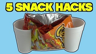 5 Snack Hacks You Can Do With CHIPS - FOOD LIFE HACKS | Nextraker