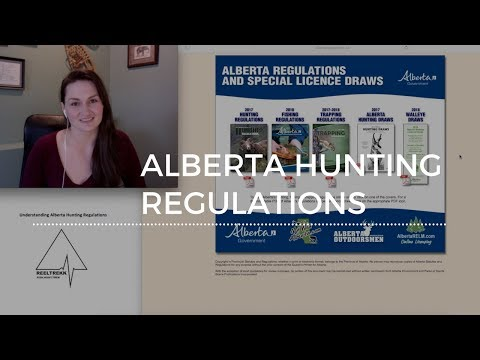 Before You Go - Part 4: Alberta Hunting Regulations