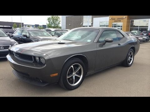 Dodge Challenger 2019 >> Pre Owned Gray on Black 2010 Dodge Challenger 2dr Cpe - Spruce Grove, Alberta - YouTube